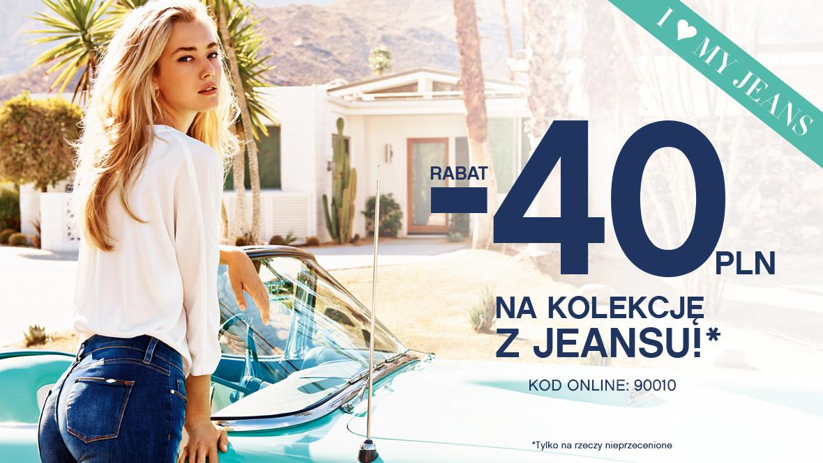 Cała nieprzeceniona kolekcja z  jeansu (spodnie, kurtki) 40zł taniej @ Orsay