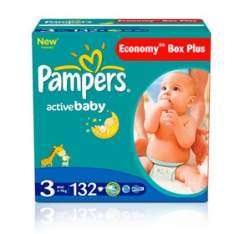 Pieluchy Pampers Economy Box Plus za 74,99zł @ Tesco