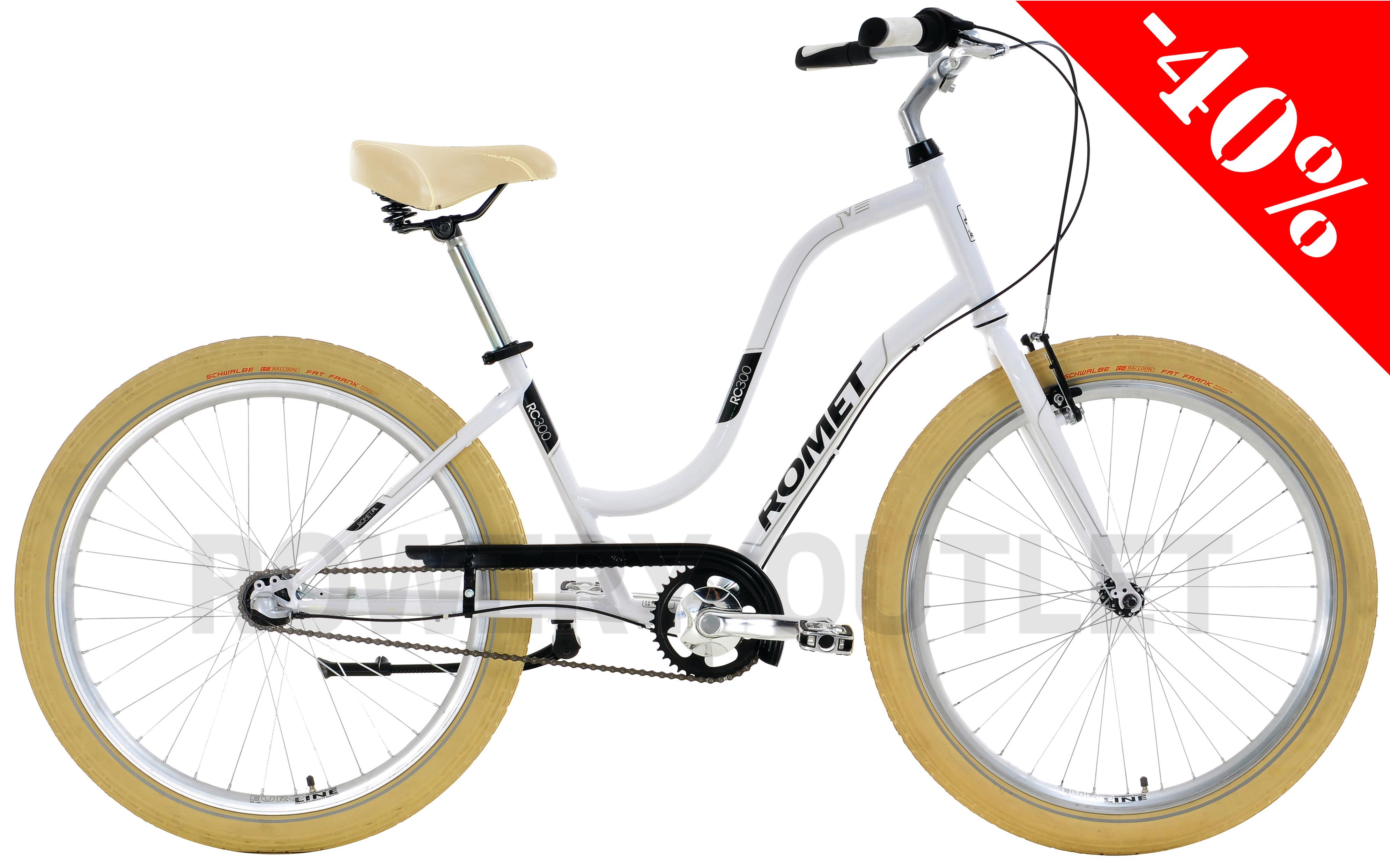 Rower miejski Romet RC-300D za 724 zł z przesyłką @ Allegro