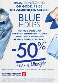 -50% na wybrany produkt od godziny 19.00 w Super-Pharm