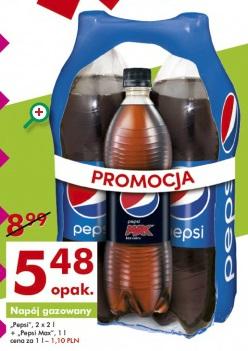 Zestaw Pepsi (2l+2l+1l) za 5,48 zł @ Auchan