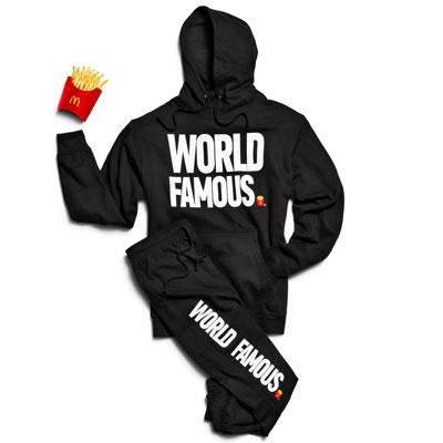 McDonalds rozdaje prezenty do zamówienia przez UberEats
