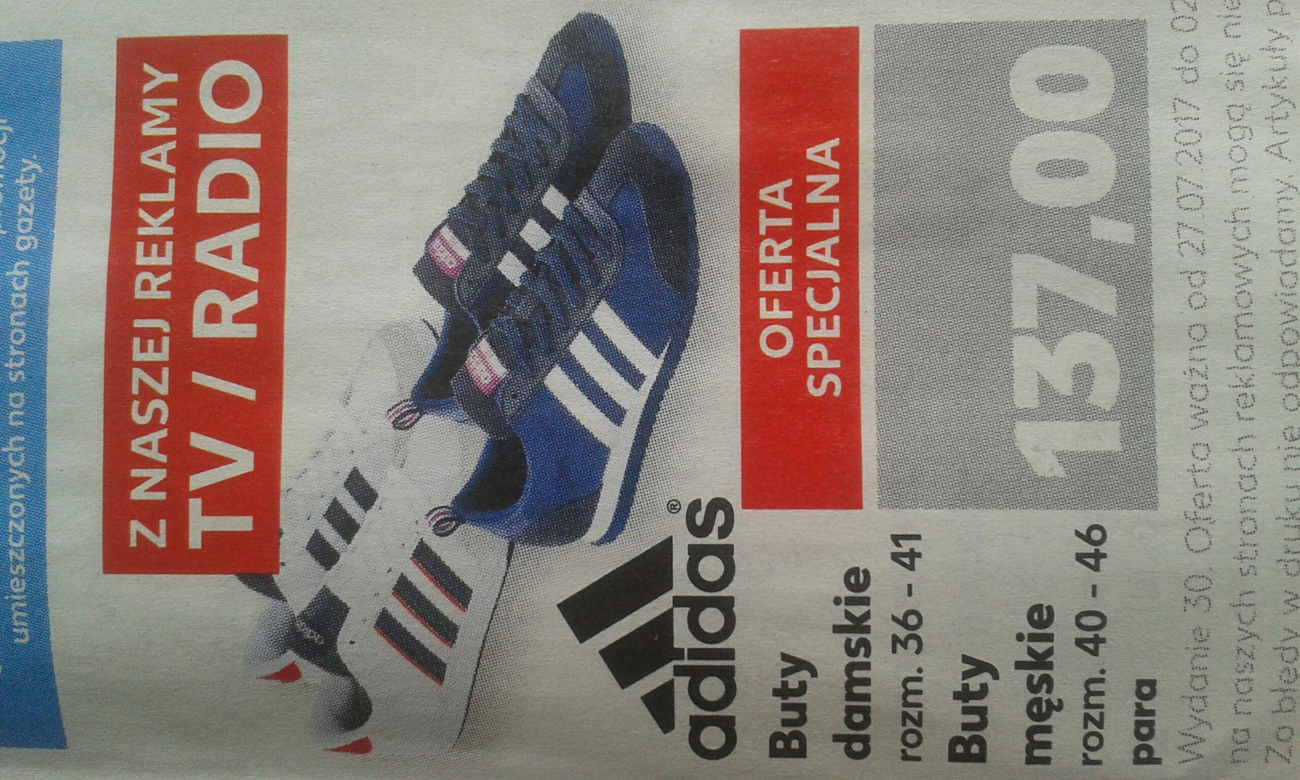 Buty Adidas, Kaufland