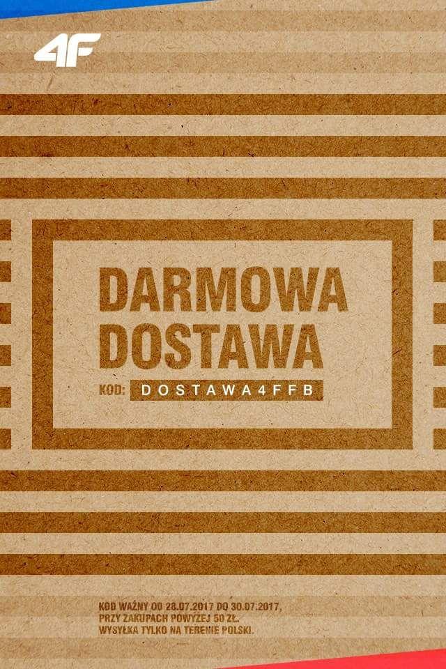 Darmowa dostawa w 4F