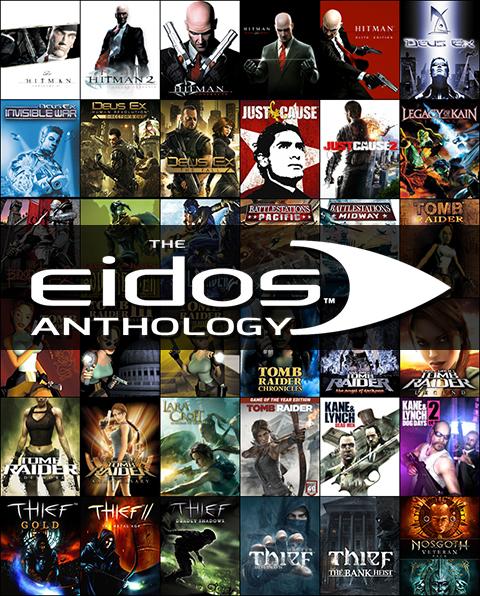 Eidos Anthology (34 gry, min. Tomb Raider (seria), Hitman (seria), Thief (seria) i inne) za 131zł, czyli ponad 750zł taniej!! @ Square Enix 