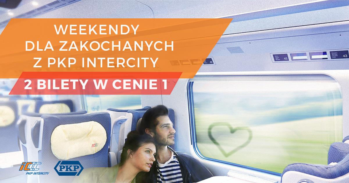 2 bilety w cenie 1 na pociągi w weekendy w lutym (TLK,IC,EIC,EIP) @ PKP
