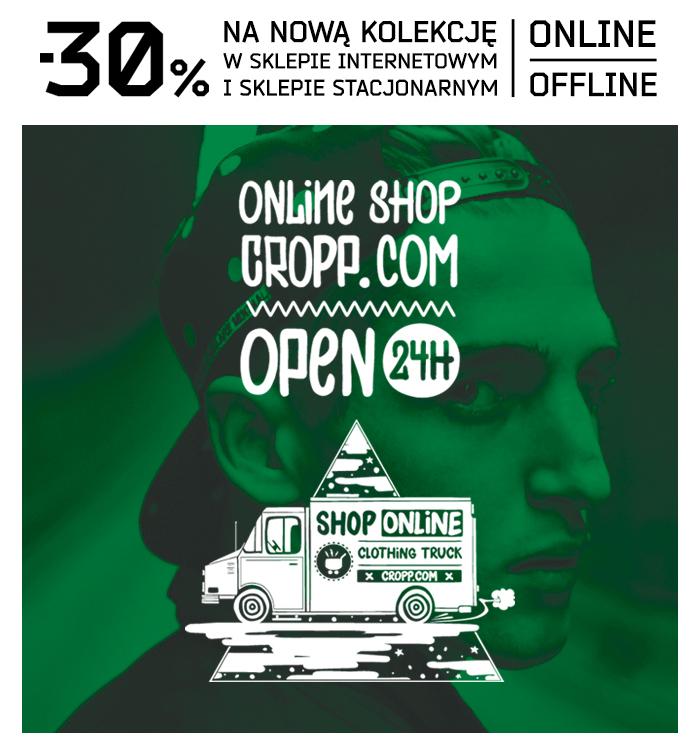 -30% na nową kolekcję @ Cropp