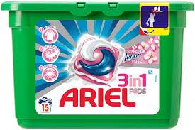 Kapsułki żelowe Ariel 15szt. w cenie 14,99zł @ Kaufland