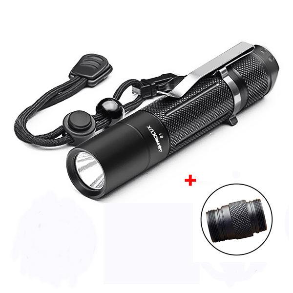 Astrolux S1 XPL 1600LM 7/4modes LED Flashlight 18650/18350