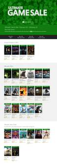ULTIMATE GAME SALE - Gry na Xbox One od 33zł @ Xbox Live Marketpace