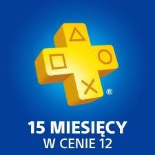 PS+ 15 miesięcy w cenie 12 @ PS Store