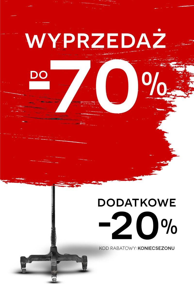 Wyprzedaż do 70% i dodatkowy rabat -20% z kodem @ Bytom