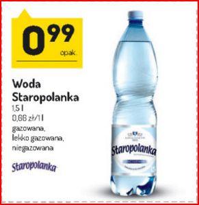 Woda mineralna Staropolanka 1.5L  -  Eko