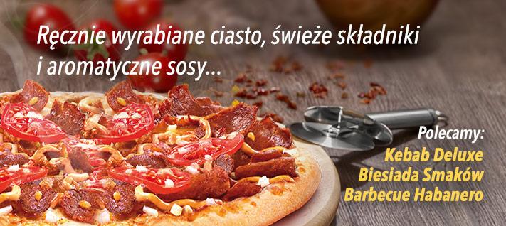 50% zniżki na wszystkie pizze @ Telepizza