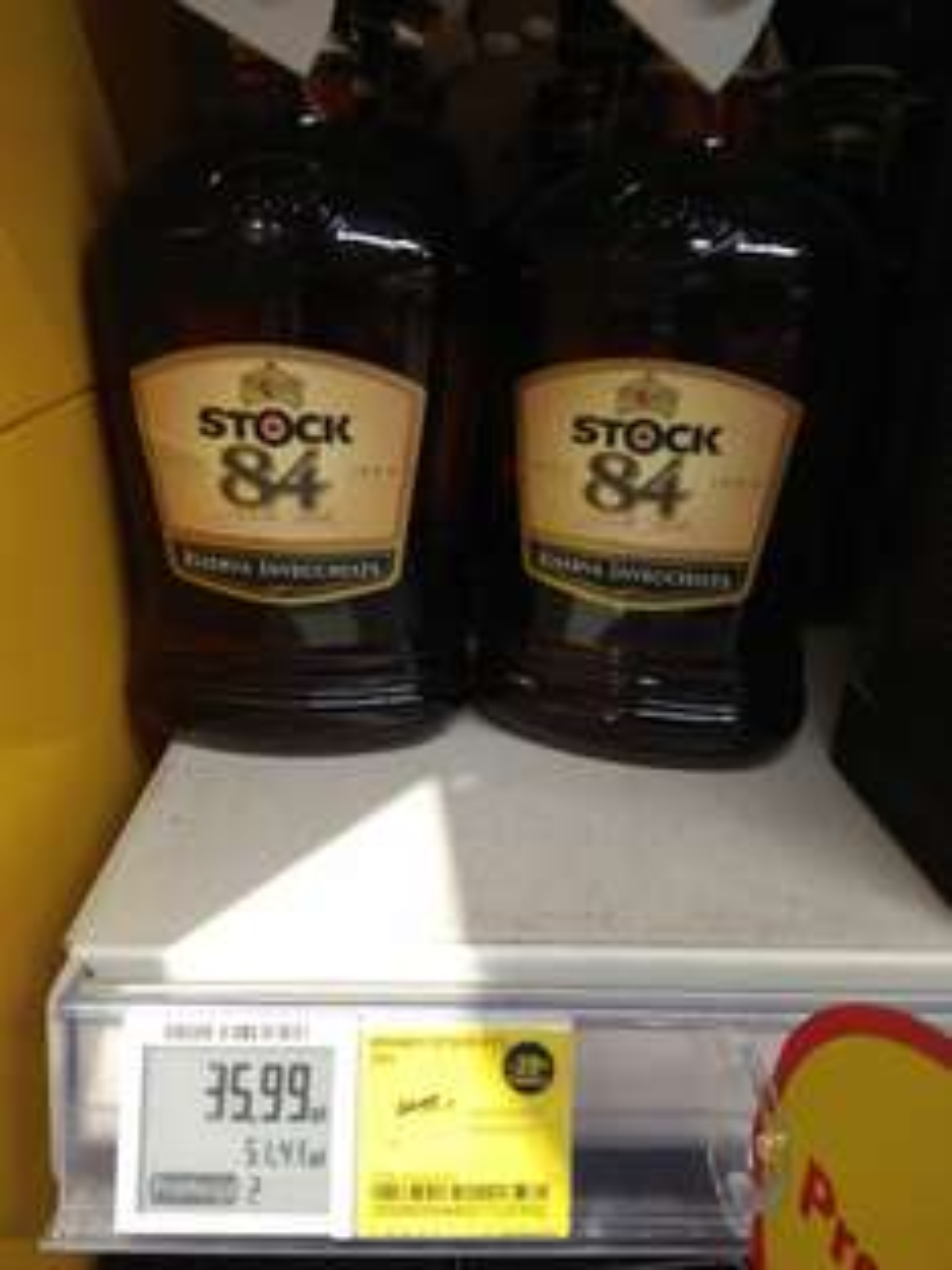 Stock brandy tesco