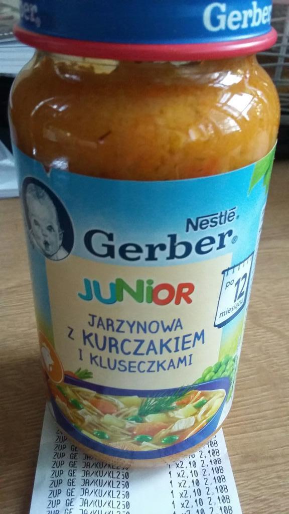 Gerber Junior (250g) - Tesco błąd cenowy