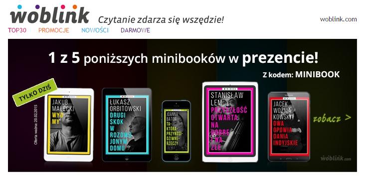 1 z 5 mini eBooków za darmo (TYLKO DZIŚ) @ Woblink