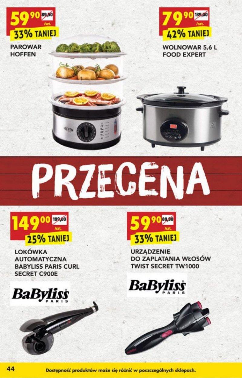 Biedronka - Przecena artykułów przemysłowych od 24.08