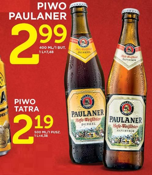 piwo Paulaner Hefe-Weißiber (jasny oraz ciemny!) 0,4l za 2,99zł @ Lidl