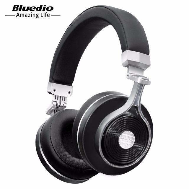 Słuchawki bluetooth Bluedio Turbine T3 za 97zł, T2+ za 107zł 4 kolory, wysyłka z EU