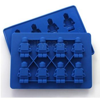 foremka do lodu w kształcie ludzików LEGO @ Aliexpress