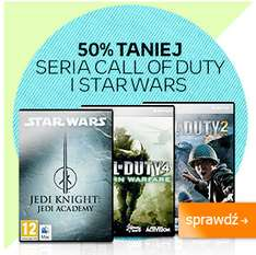 -50% na gry z serii Call of Duty oraz Star Wars (MAC/PC) @ Empik
