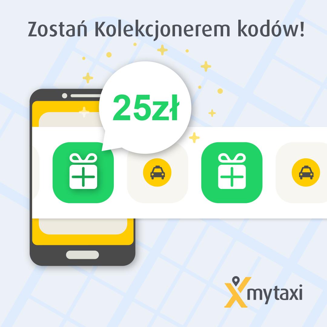 MYTAXI Cały Wrzesień Co Drugi Kurs Gratis i kontynuacja promocji na lotniska -50%
