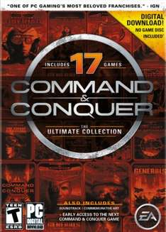 Command & Conquer The Ultimate Collection (17 gier) za 18,50zł @ Amazon.com