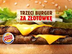 Burger za 1zł @ Burger King