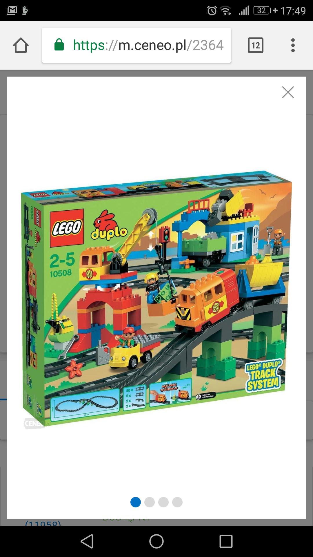 Lego Duplo zestaw deluxe za 130 zł w aplikacji mall.pl