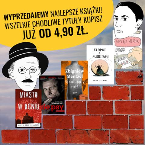 Książki od 4,90zł  @ Chodnik Literacki