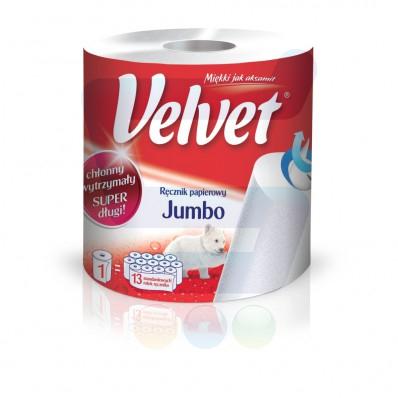 Ręcznik papierowy Velvet jumbo w cenie 9,99zł @ Kaufland