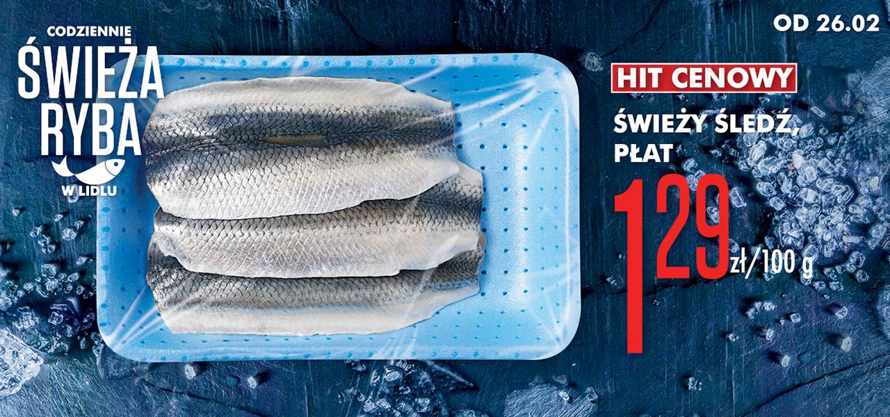 Świeże ryby z rabatem min. 20% @ Lidl