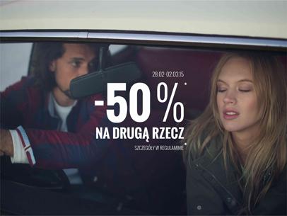-50% na drugą rzecz @ House