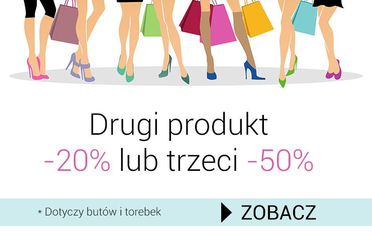 Drugi produkt -20% lub trzeci -50% @ Kari