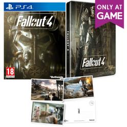 Fallout 4 + steelbook + postcards (PS4) za ok 37zł (PS4, XONE) @ Game
