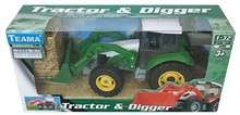 Zabawkowy traktor ze spychaczem za 6zł (-75%) + opcja darmowej dostawy @ Lideria