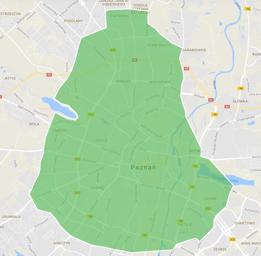 UberEats w Poznaniu