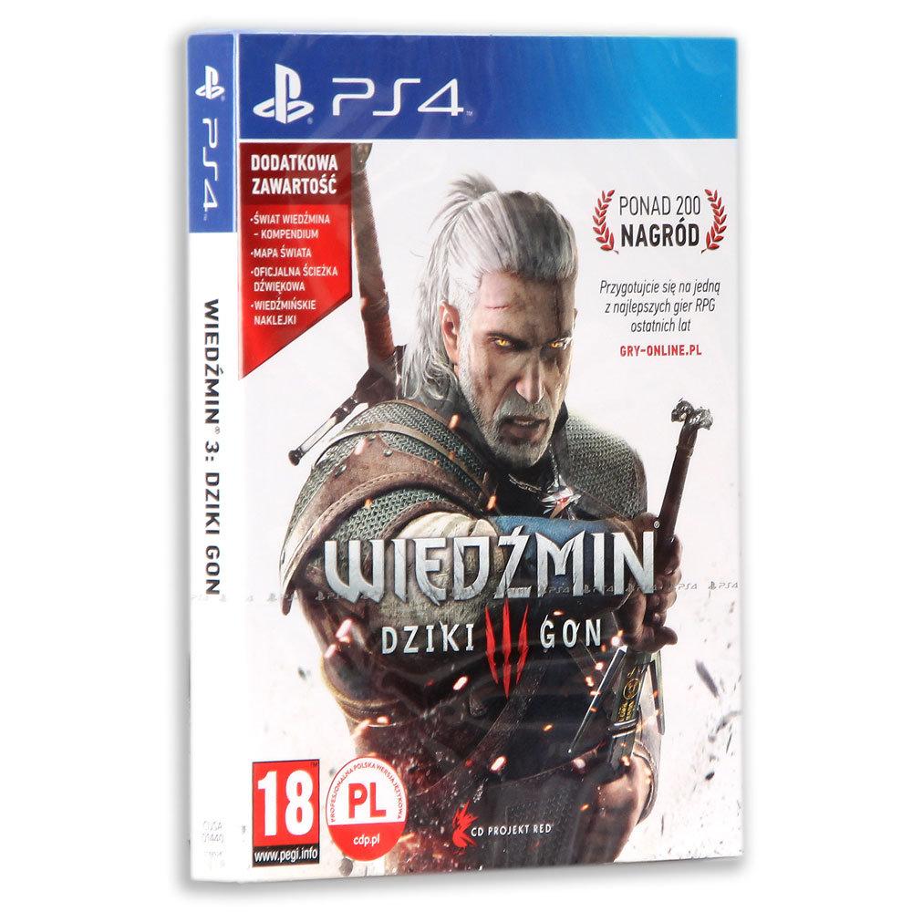 Wiedźmin 3: Dziki Gon [Playstation 4 lub PC] - polska wersja pudełkowa za 49,99zł @ Empik