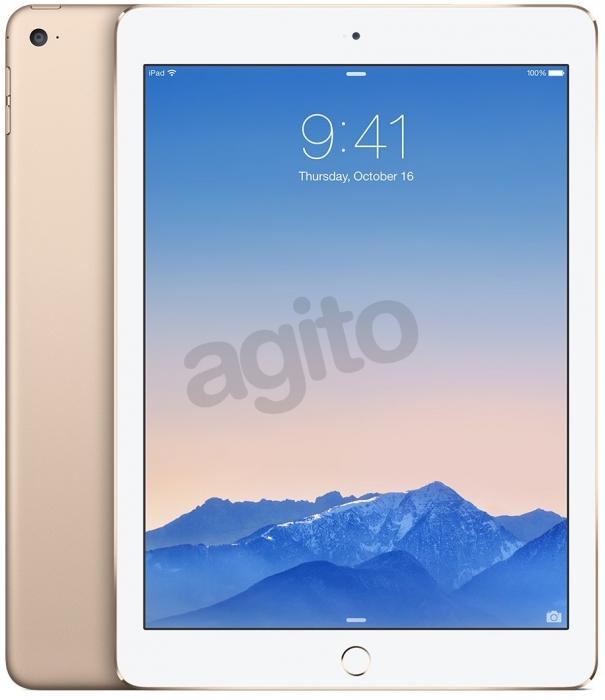 Tablet Apple iPad Air 2 (16GB, Wi-Fi, LTE, Gold) za 2279zł (320zł TANIEJ) @ Agito