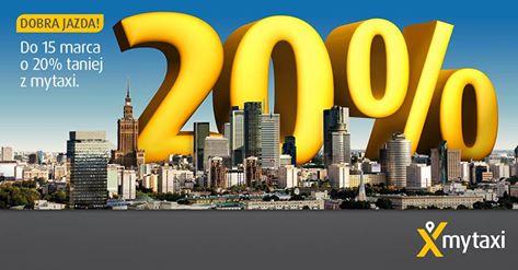 -20% za kurs (Warszawa) @ mytaxi