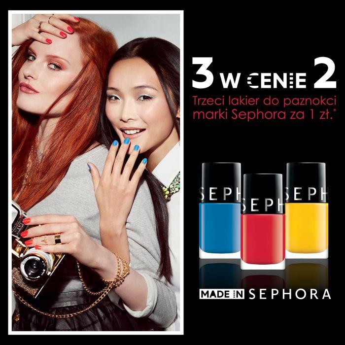 Trzeci lakier do paznokci za 1zł @ Sephora
