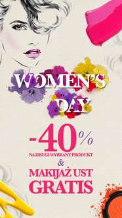 -40% na dowolny produkt + makijaż ust gratis @ Flormar