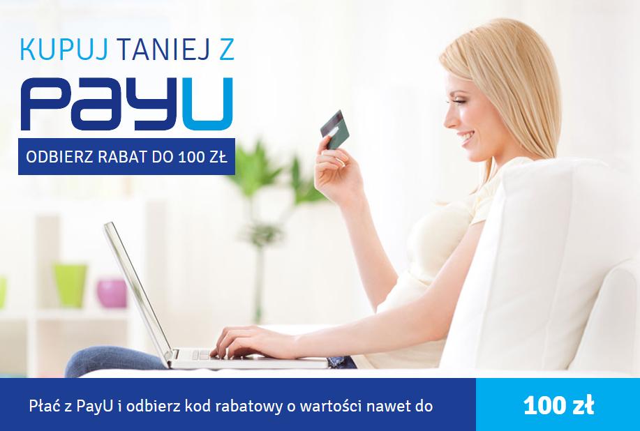 kody rabatowe 20-100zł za płatność PAYU za zakupy @ EURO RTV