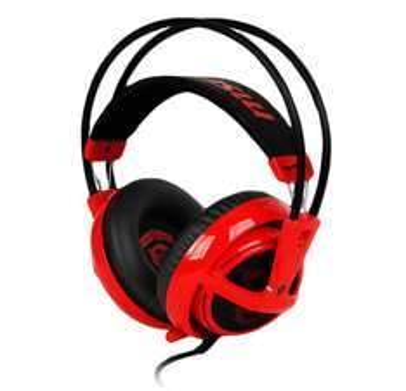 słuchawki nauszne  SteelSeries Siberia V2 (MSI) z mikrofonem @ X-Kom