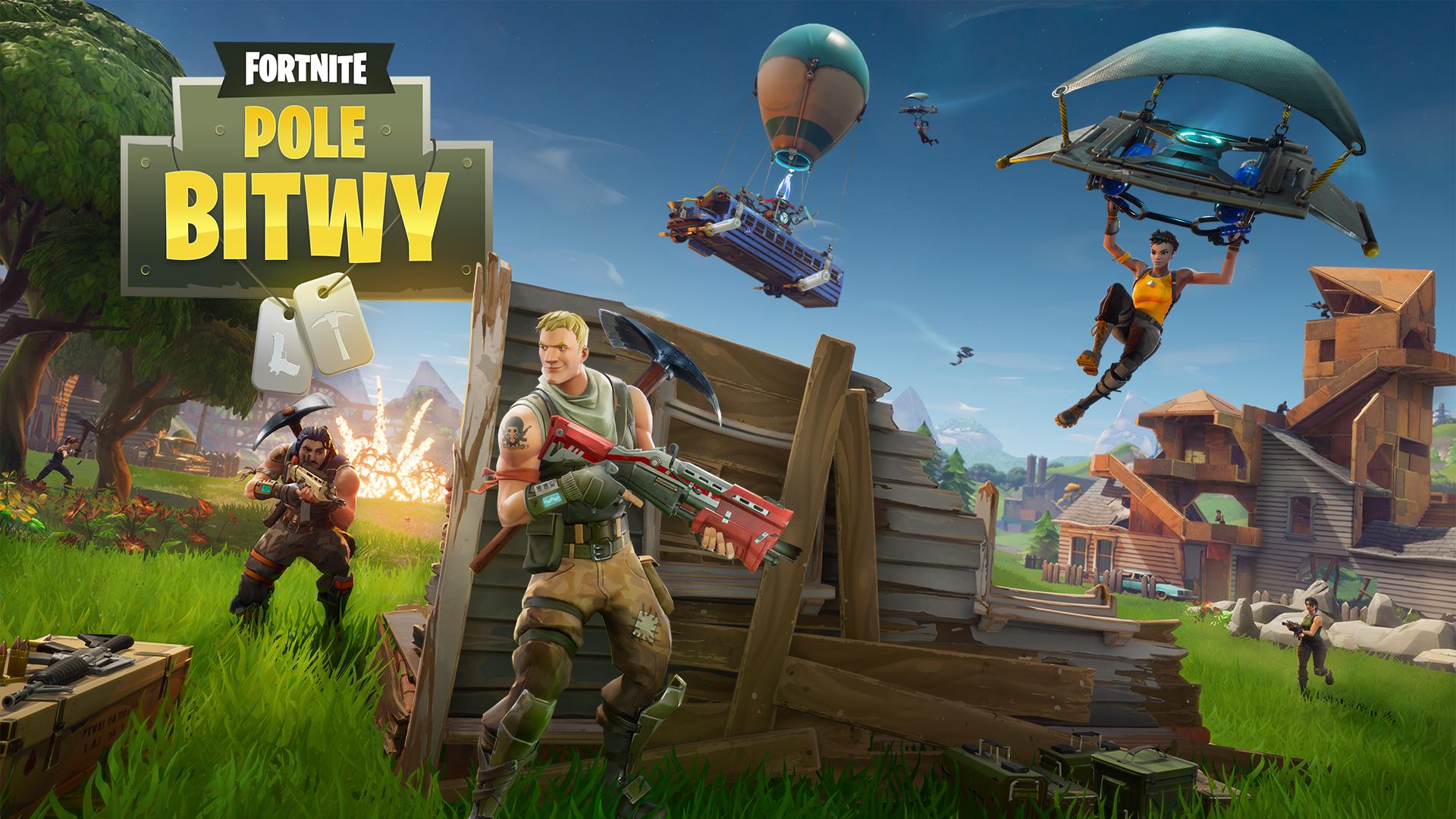 Battle Royale w Fortnite (PS4, Xbox One, PC i MAC) za darmo !