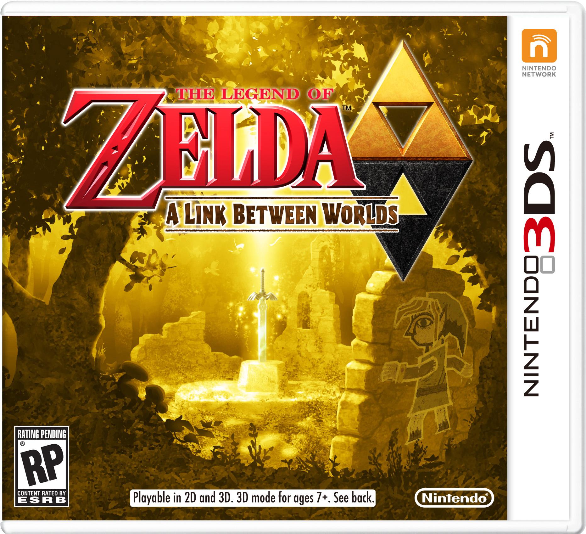 (AKTUALIZACJA) The Legend of Zelda: A Link Between Worlds (3DS) za ok. 132zł @ Amazon UK