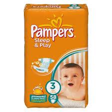 Pieluszki Pampers Sleep&Play 2 opakowania za 46zł @ Netto