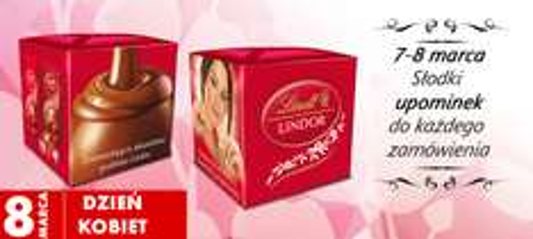 Słodki upominek z okazji Dnia Kobiet @ Auchan Direct