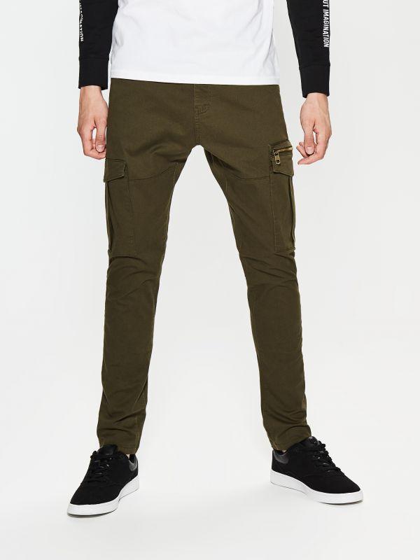 Męskie spodnie cargo za 59,99zł (-50%, pełna rozmiarówka) + dostawa gratis @ House